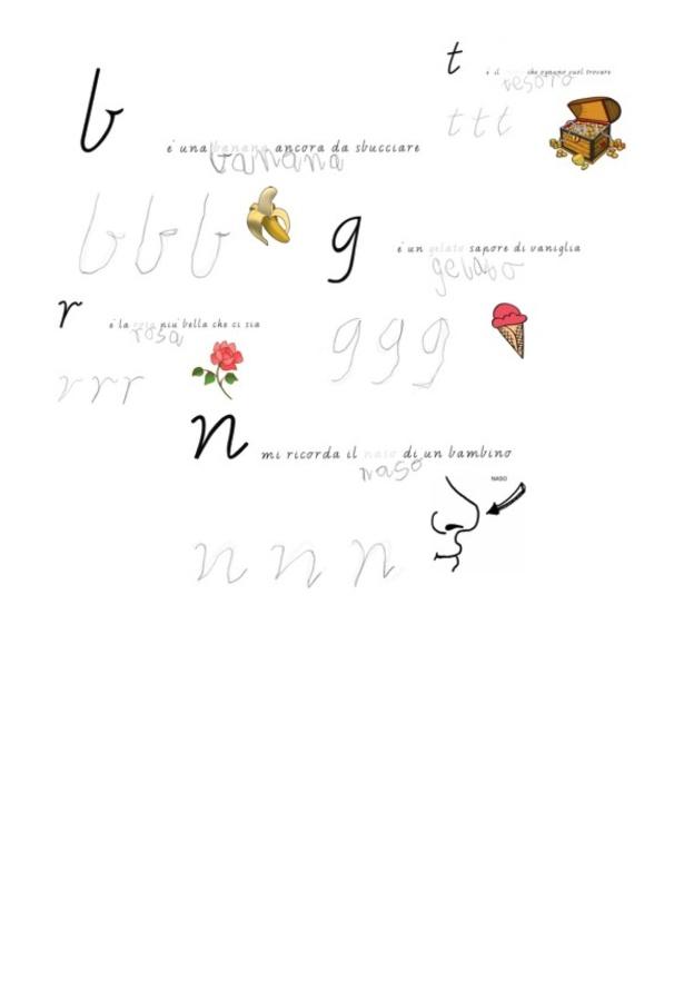 parole con disegni