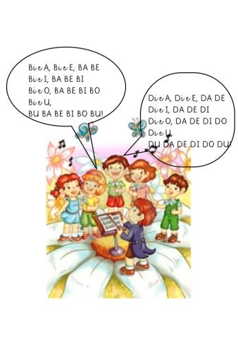 cantare le sillabe