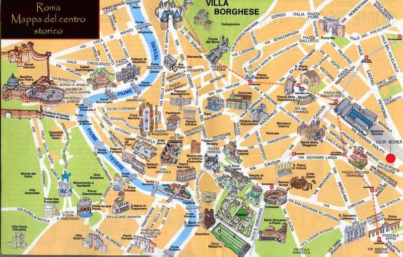 rome metro map pdf 2017